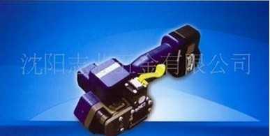 生产销售打包紧力卓越电动塑钢捆扎机打包机