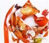 批发供应彩色原点南韩丝小方巾韩版丝巾厂家直销、低价销售