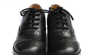 英伦风格学院风女子正装皮鞋 百搭款复古鞋休闲皮鞋
