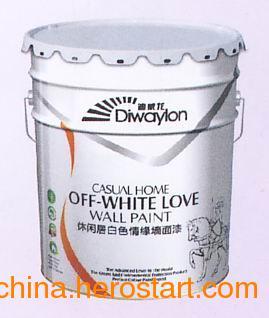 家居首选品牌 杜邦涂料 休闲居白色墙面漆  福州好杜邦