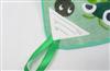 【出口日本】学生用印花方巾 割绒印花方巾巾(三角标) 30*30