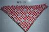 韩国潮爆三角巾/口水巾/头巾/围巾/围嘴  红色苹果 编号:21