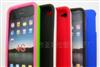 最新供应4g水晶壳+硅胶单色皮革手机保护套