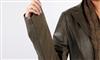2012新款真皮皮衣绵羊皮女士西装领配蕾丝围巾韩版修身女装外套
