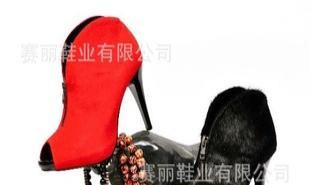 源自美国著名设计师DANNY原创简约鱼口凉鞋