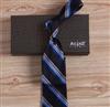 热卖韩版条纹超细涤纶仿真丝商务正装领带2011F-5&6