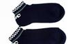批发供应春秋袜船袜 棉袜 印字母/纯色袜 休闲运动男袜