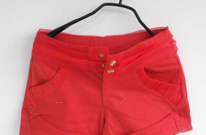 批发-新款时尚春装日韩版女装全棉修身休闲短裤来料加工-H9935