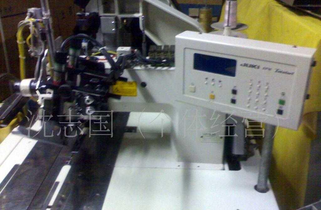 供应二手服装缝纫电子产品工业机械设备 , 加工转让 重机开袋机