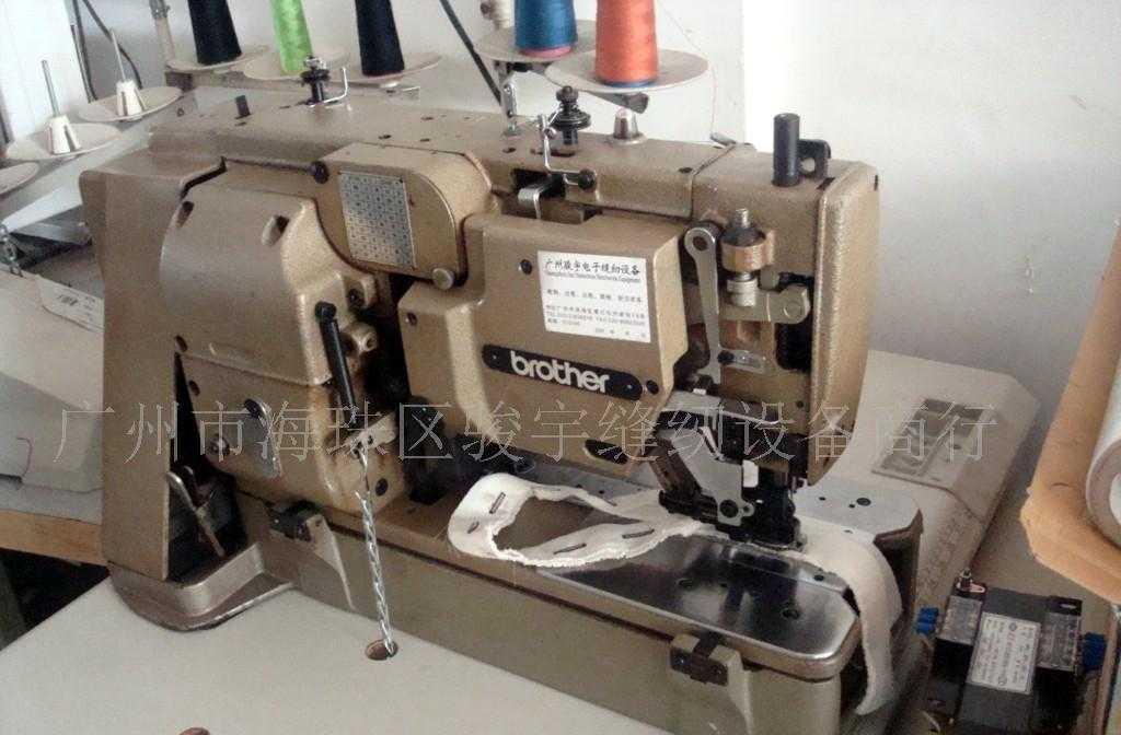 供应兄弟814平头锁眼机 直眼机 各种缝纫机 配件出售