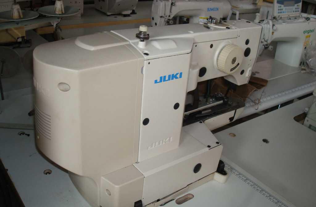供应JUKI1903电子钉扣机  出售各种新旧缝纫机及配件