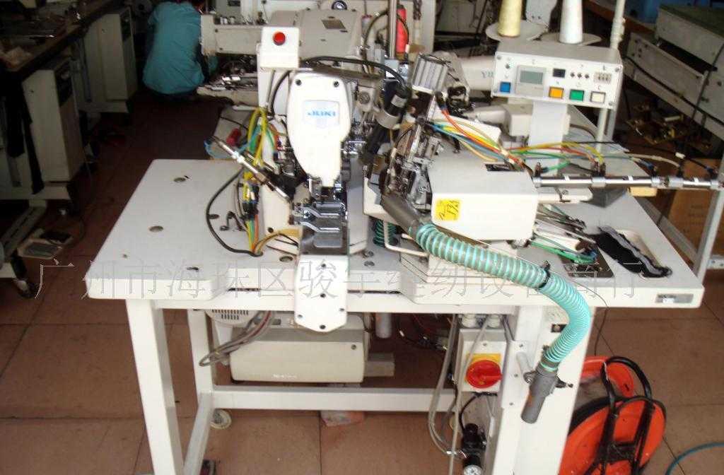供应JUKI自动打裤耳机 各种新旧衣车 工业缝纫机