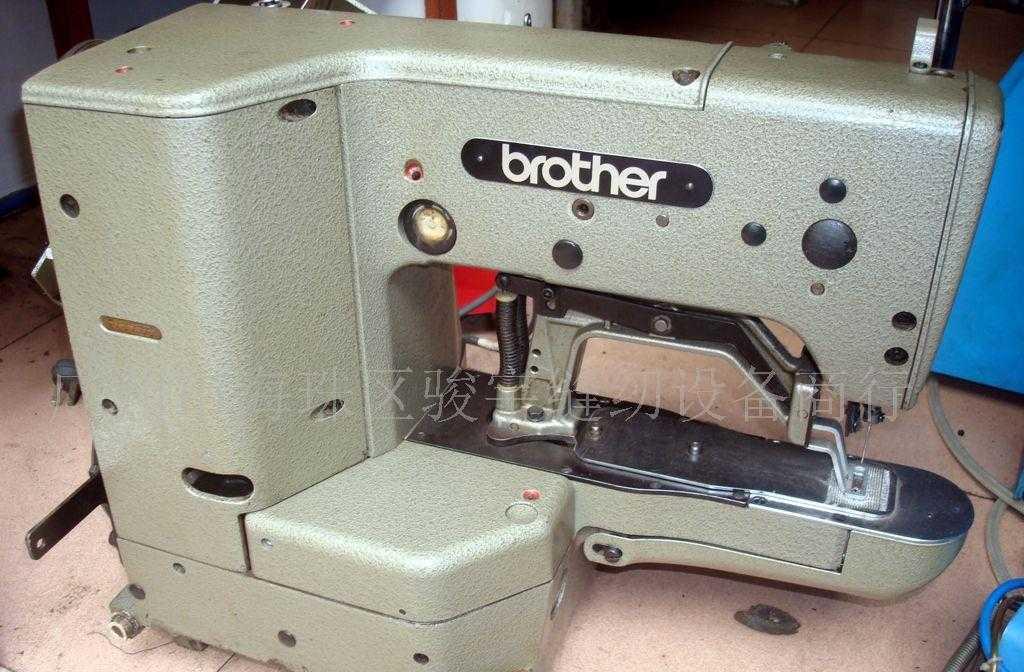 供应二手兄弟430打结机  各种电子打枣机 新旧缝纫机