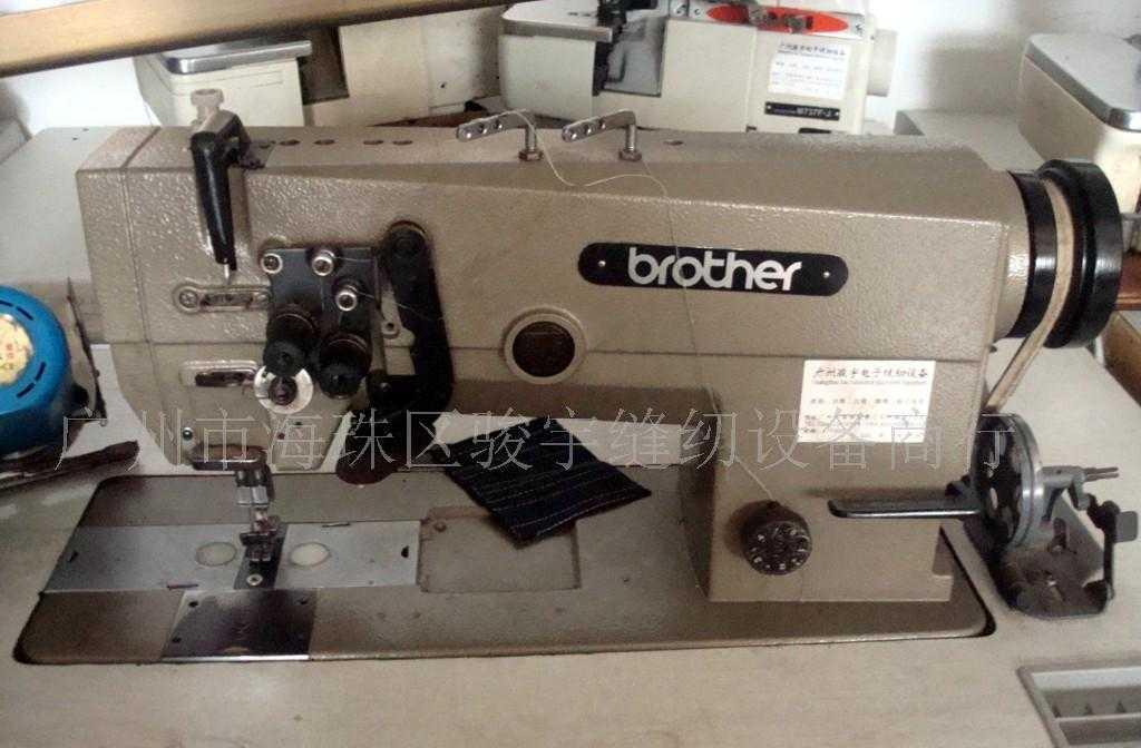 供应二手日本兄弟牌双针车  出售各种新旧衣车  进口缝纫机
