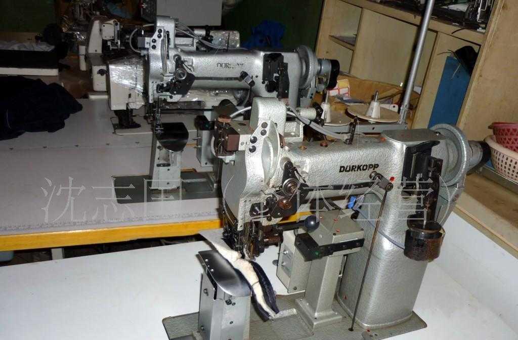 供应德国杜克普697-24155上西服袖里布上垫肩工业西服专缝纫设备
