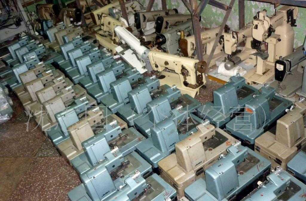 供应二手日本进口重机180工业用机械缝纫机设备西服袖口假眼