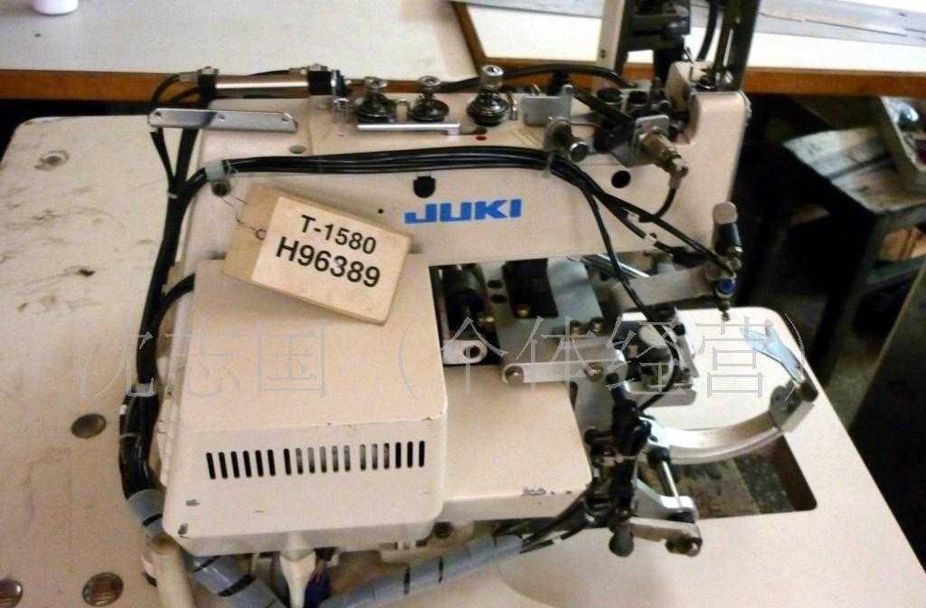 供应二手日本进口重机187工业用钉扣绕扣缝纫机设备转让