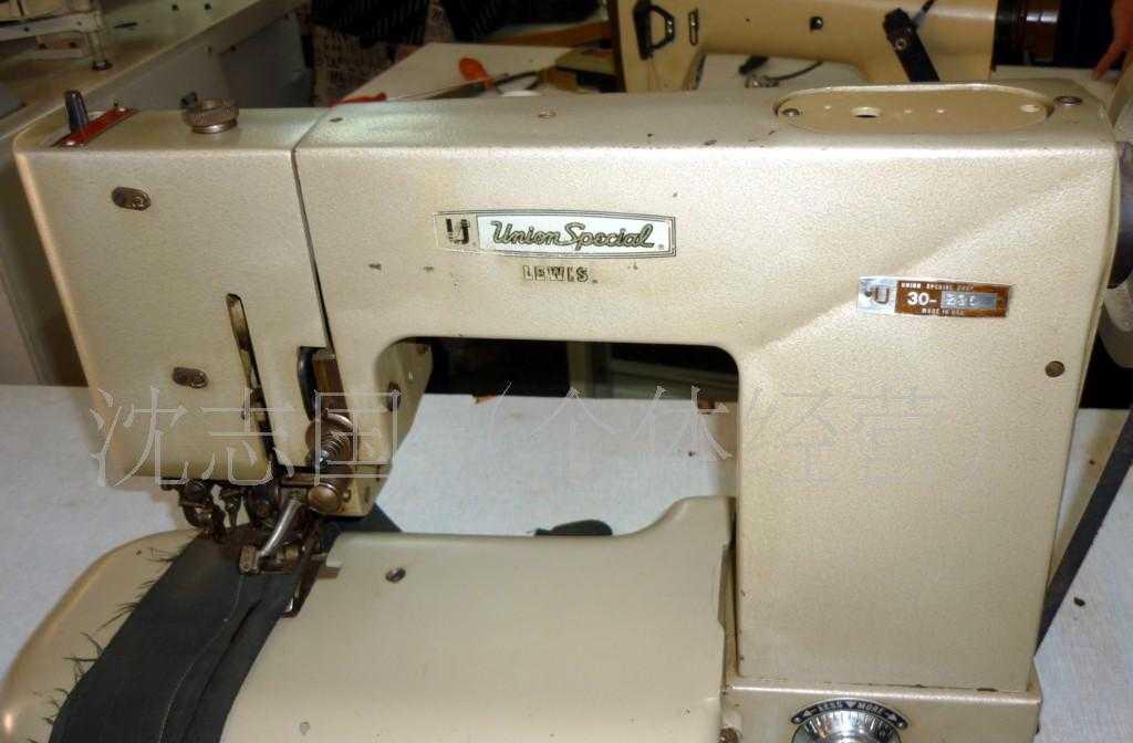 供应美国进口於仁二手专机工业用缝纫机械设备西服撬西服下摆机