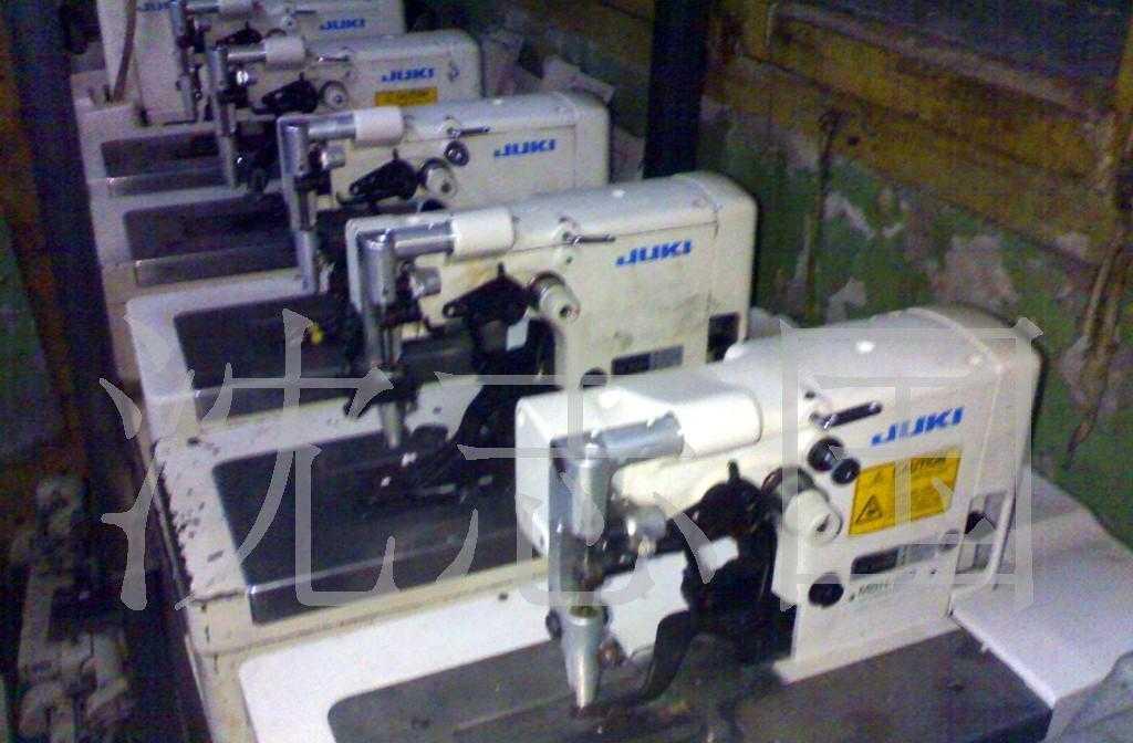 供应二手日本进口重机MBH-180工业缝纫机设备西服袖口假眼机转让