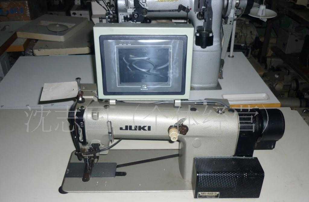 供应二手全自动西服容袖机、做袖棉条工业用机械缝纫机设备
