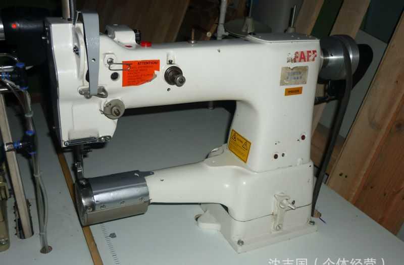 供应二手德国百福圆筒附寸机343工业用机械缝纫机设备