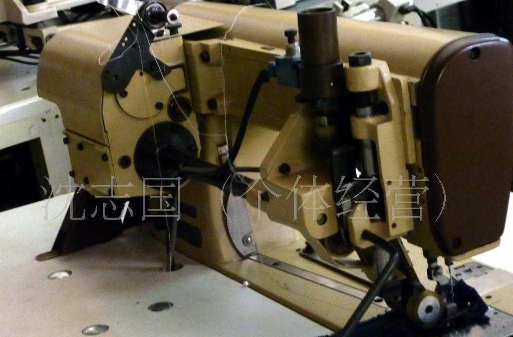 供应二手百福带拖轮链条车工业用机械缝纫设备