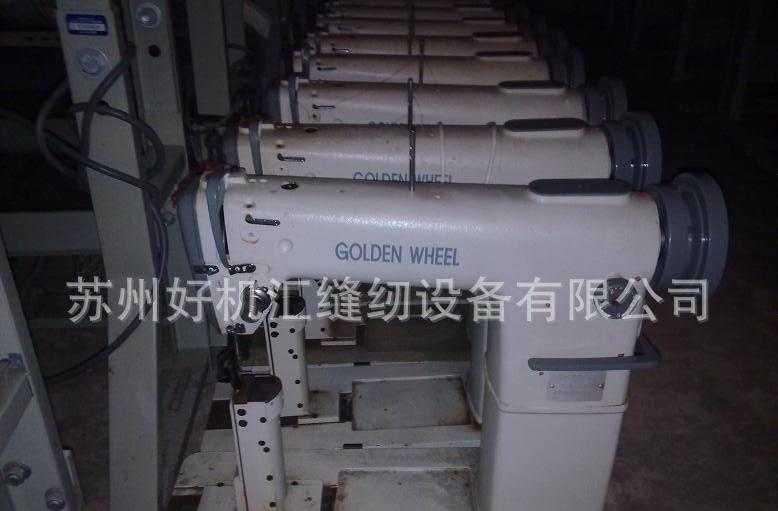 九成新台湾金轮CS-810高头缝纫机 高头车 箱包鞋帽缝纫机