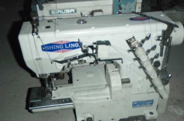 二手针车,针织设备,小方头,3针5线