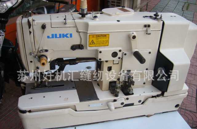 日本原装重机缝纫机 LBH-781平头锁眼机 JUKI锁眼机