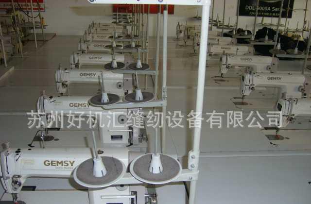 二手缝纫机 9成新宝石GEM8500高速平缝机 自动加油缝纫机