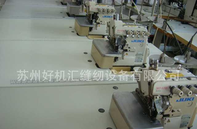 重机包缝机 JUKI四线包缝机 MO-6716S锁边缝纫机