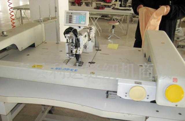 日本重机AMS-309大面积图案接缝缝纫机