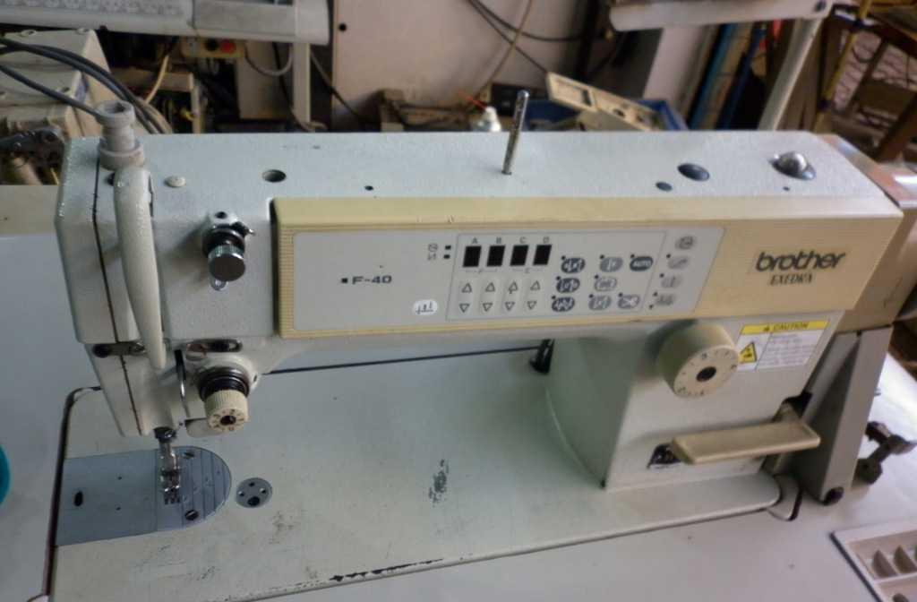 二手兄弟F-40电脑平缝机,自动剪线737电脑平车
