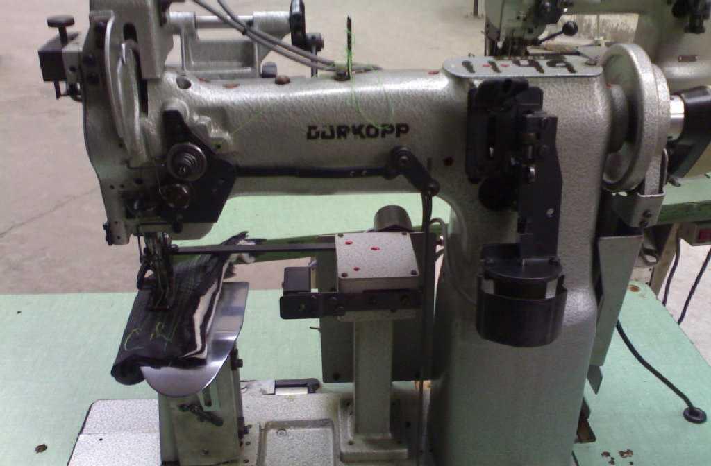 供应德国进口杜克普697-1515上西服袖里布工业西服专缝纫设备配件