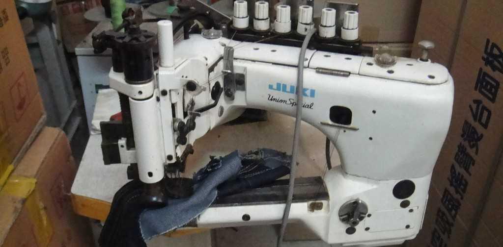 二手JUKI日本重机35800牛仔厚料埋夹机