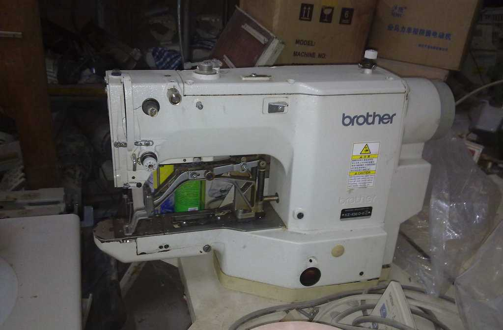 日本兄弟430D电脑套结机