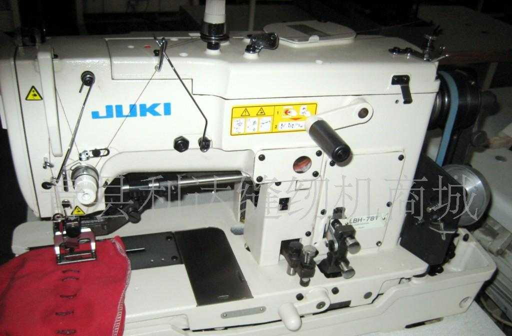 日本重机781电脑平头锁眼机
