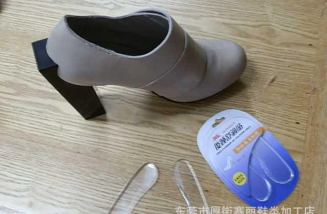 厂价批发后跟贴 防磨脚 透明水晶贴 硅胶贴 鞋后跟帖 鞋垫