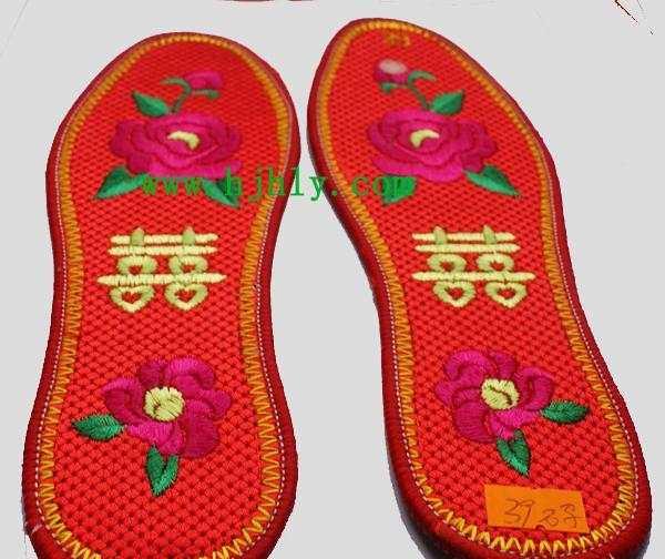 绣花鞋垫 米字鞋垫 民族风格家居