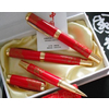 供应西安红瓷笔 西安青花瓷笔 西安红瓷笔定做