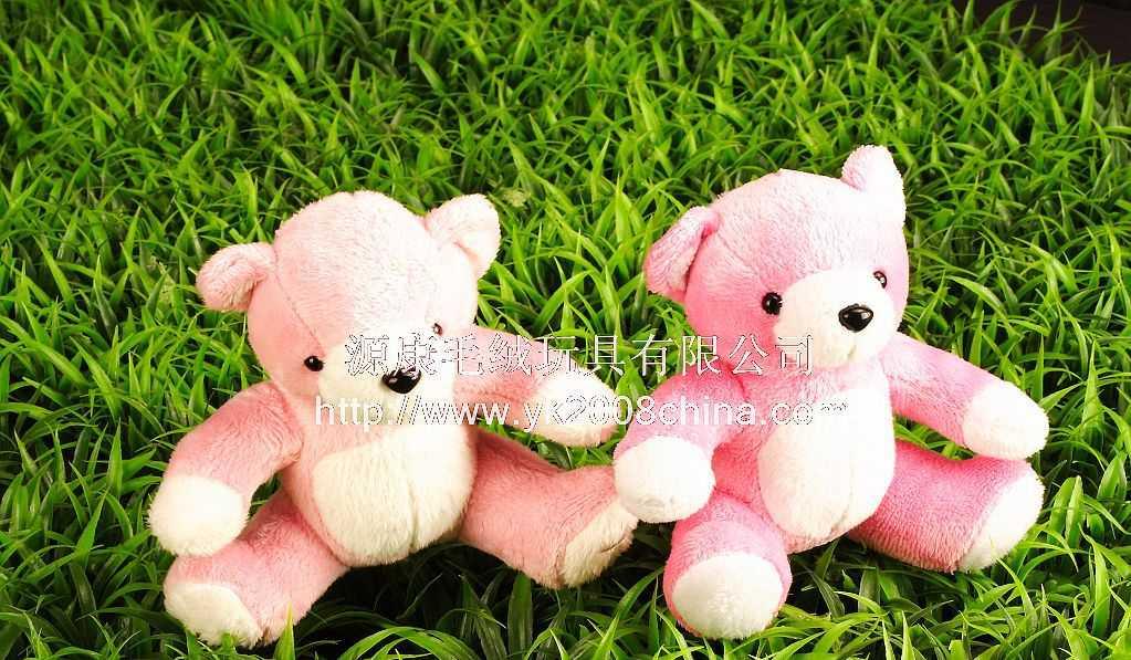 供应毛绒玩具,可爱手机挂饰,情侣挂件,泰迪熊情侣