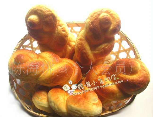 供应手机挂饰 韩国饰品 外贸外单 仿真面包 家居摆设