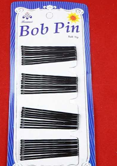 黑色对夹 边夹 夹头发好帮手1版36个价 40克6306