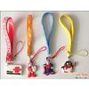 供应PVC软胶手机绳 手机绳 创意手机绳 卡通手机绳 硅胶手机绳 创意礼品