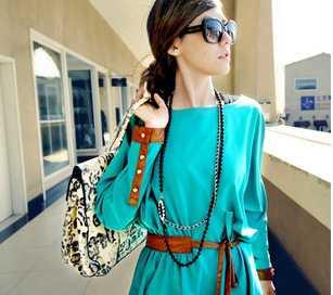 供应 A16225秋装新款2011韩版女装连衣裙 服装服饰代理加盟