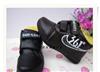 长期批发各品牌库存童鞋,儿童休闲鞋 男童加棉加绒皮棉鞋 NMX001