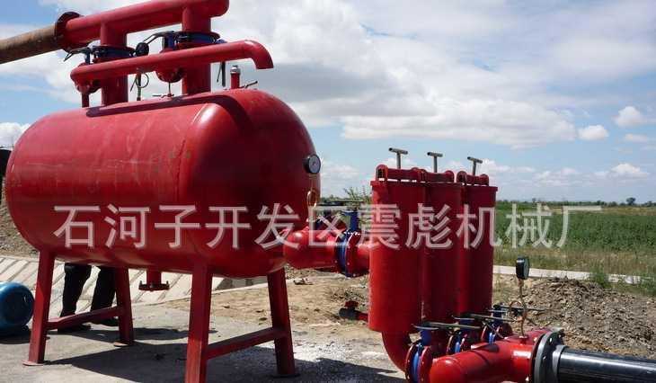 8GSW-150沙石加网式农业滴灌用过滤器