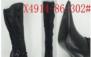 长期供应外贸全真皮靴子,库存真皮靴,尖头真皮女靴,原单装女靴