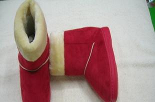 儿童雪地靴 大童室内保暖鞋 男女适用 简单款JM917