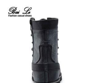 新款韩版潮童靴 男 防滑亲子鞋 亲子靴子 马丁靴童鞋骑士靴7013